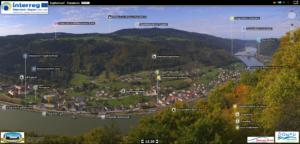 Panoramabild Oberes Donautal